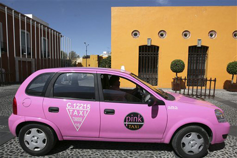 pink taxi_article
