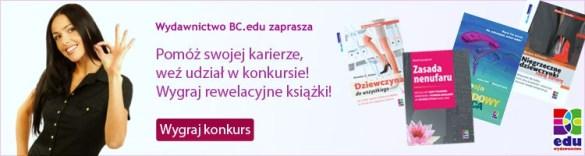 Konkurs książkowy 'Kobiety i kariera'