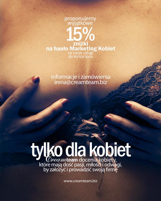 Tylko dla kobiet lipiec 11. haslo Marketing Kobiet