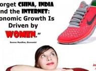 Kobiety najszybciej rosnącą gospodarką świata