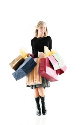 Kobieta zaczyna odczuwac znudzenie zakupami dopiero po 2 godzinach